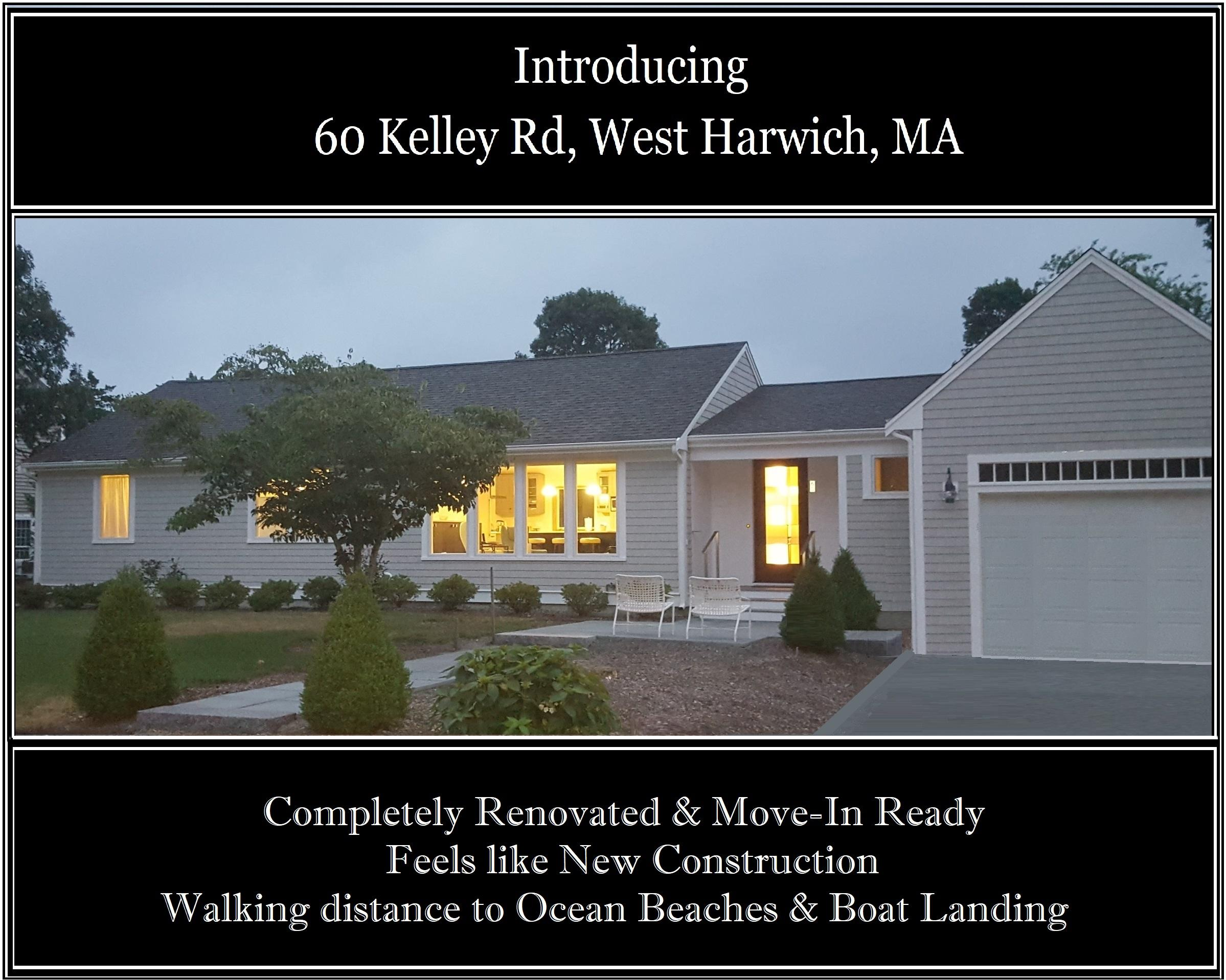 60 Kelley Road  Harwich, MA 02671