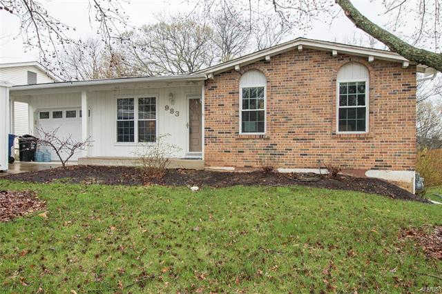 983 Piedras Parkway, Fenton, MO 63026 now has a new price of $139,900!