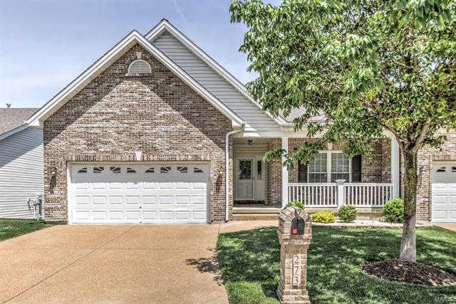 273 Strayhorn Drive, St Peters, MO 63376 now has a new price of $309,000!