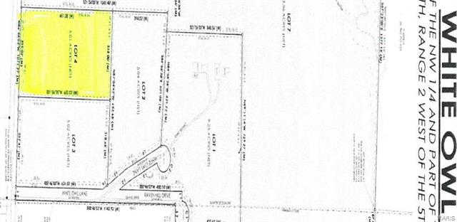 4 Lot Kwy KK ( White Owl), Washington, MO 63090 is now new to the market!