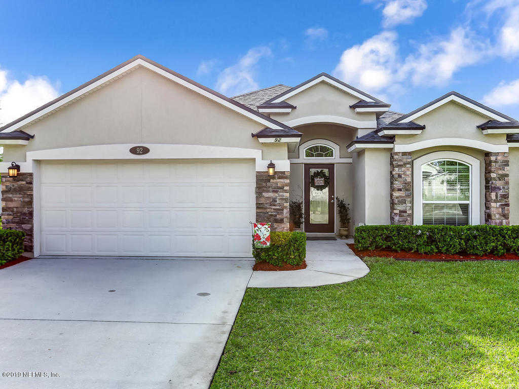 92 St Croix Island Dr, St Augustine, FL 32092 is now new to the market!