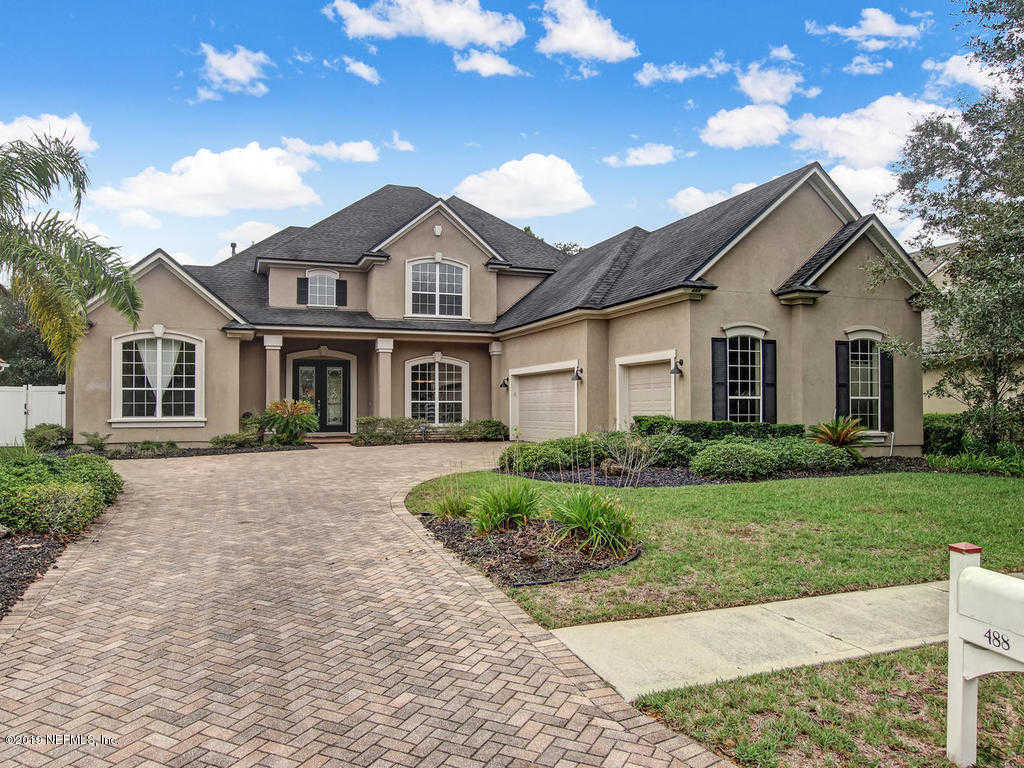 488 Sebastian Square, St Augustine, FL 32095 now has a new price of $485,000!