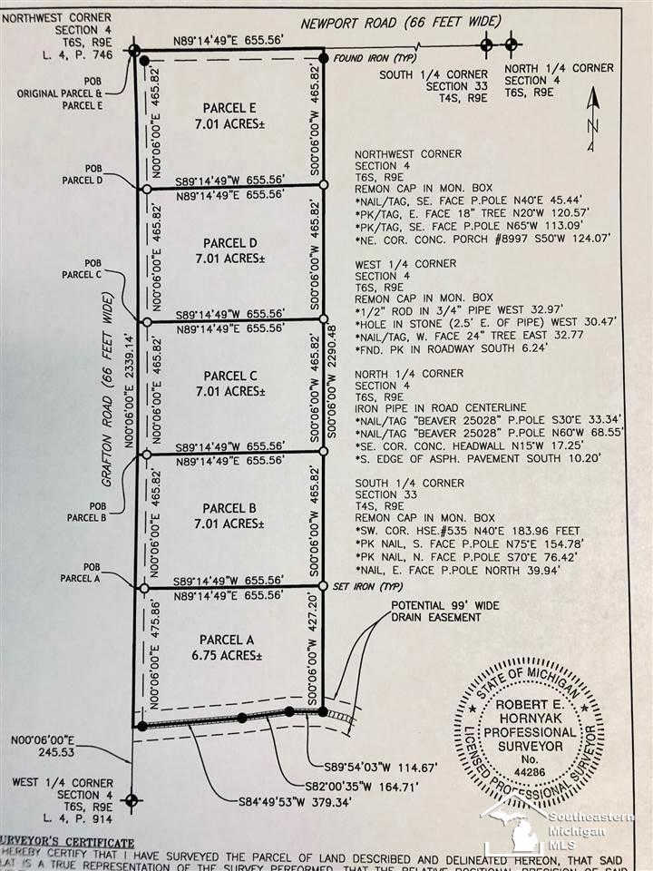 0 Grafton #Parcel 'a', Newport, MI 48166 now has a new price of $89,900!