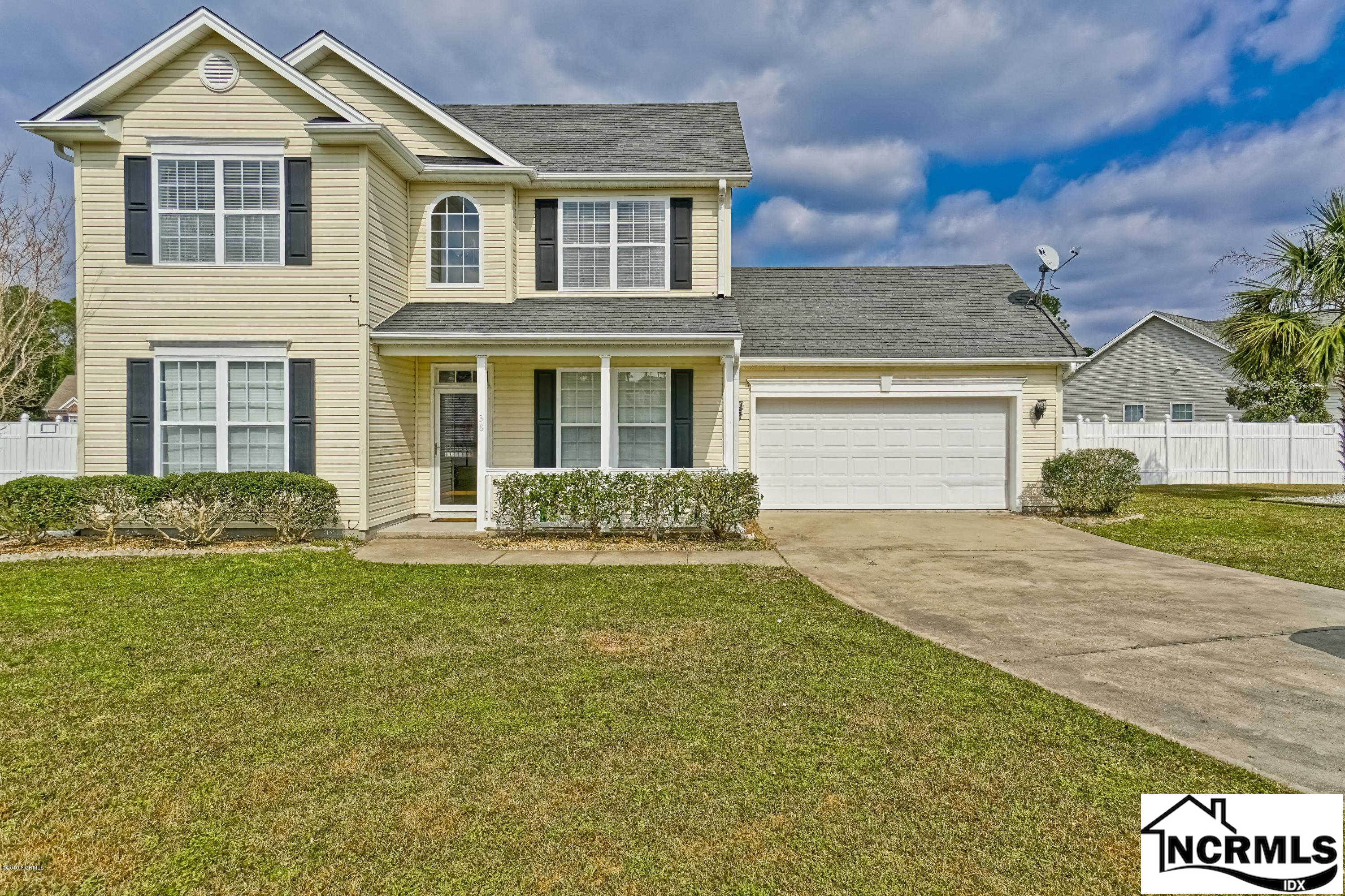 38 Hawick Drive, Shallotte, NC 28470 now has a new price of $199,900!