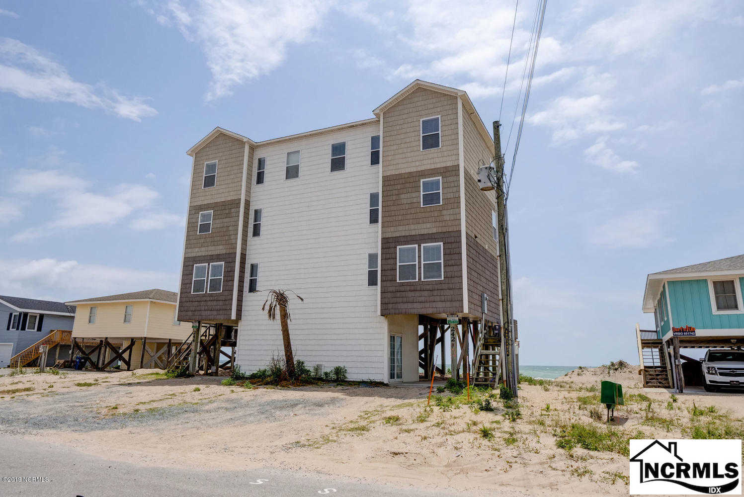 242 Seashore Drive, North Topsail Beach, NC 28460 now has a new price of $555,000!