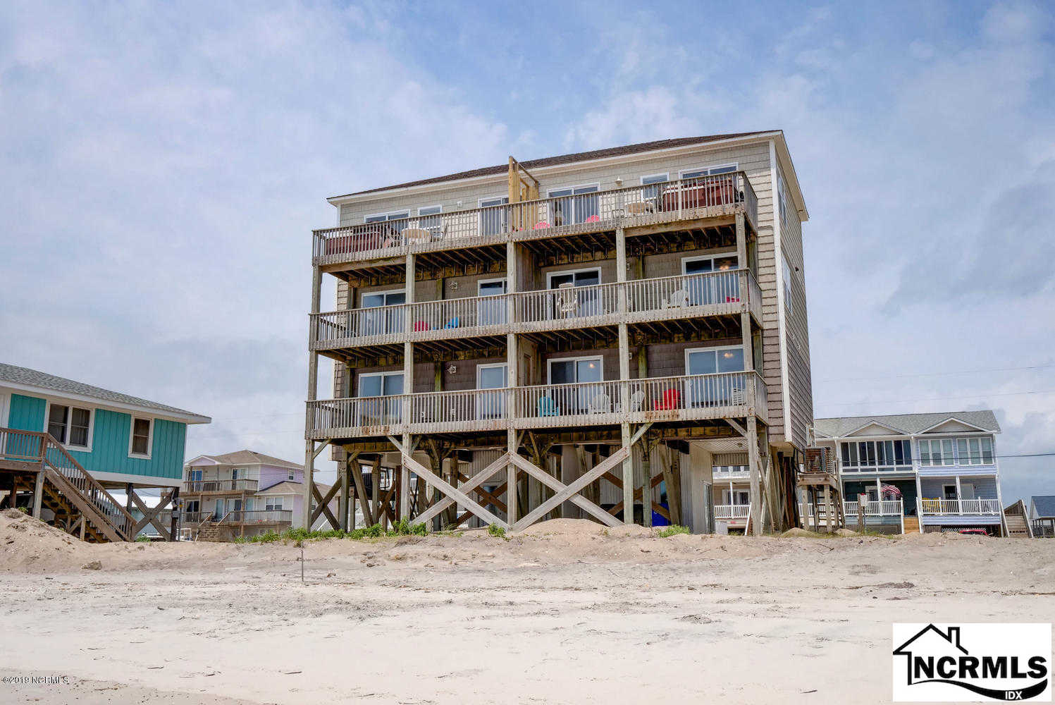 244 Seashore Drive, North Topsail Beach, NC 28460 is now new to the market!