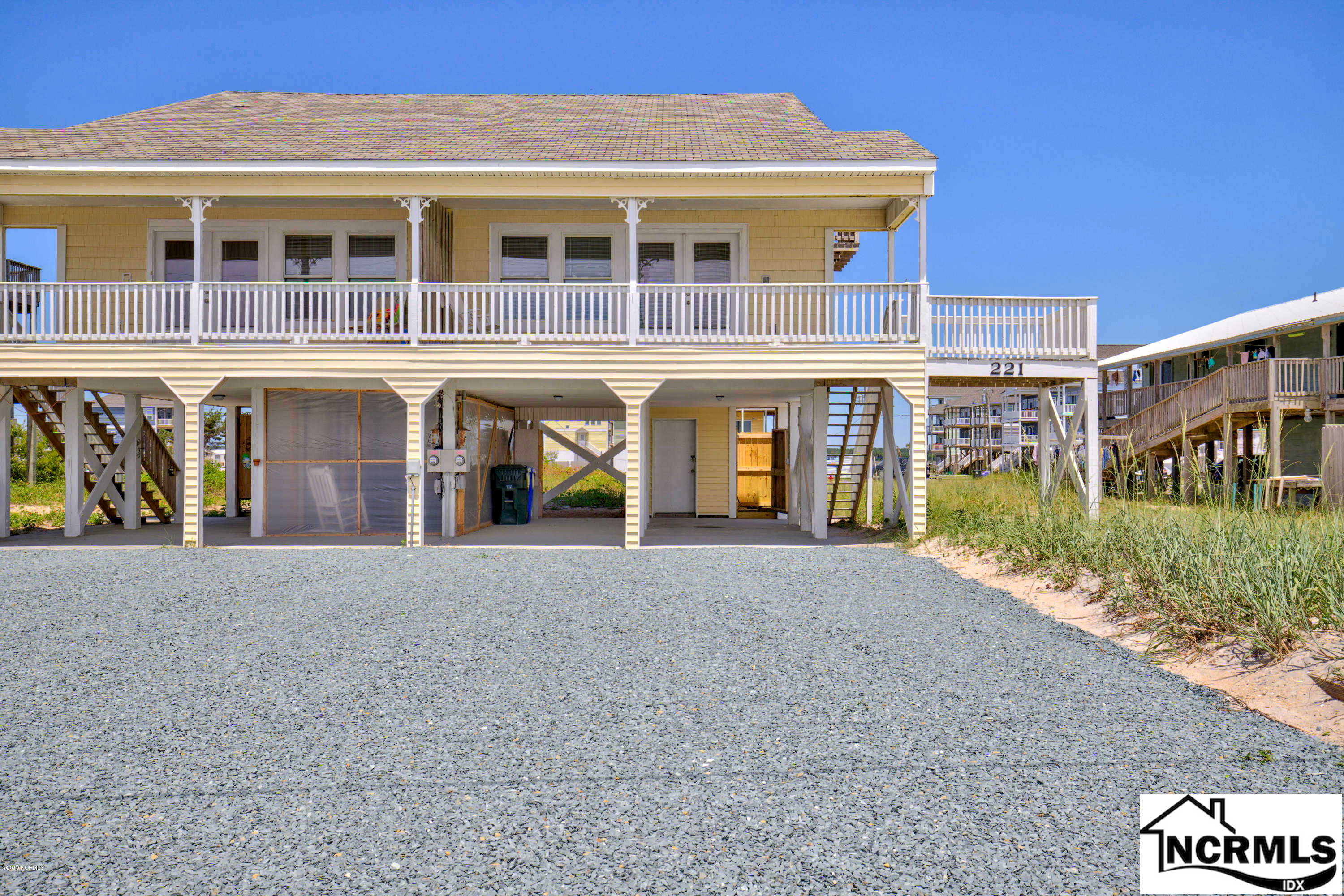 221 Seashore Drive, North Topsail Beach, NC 28460 is now new to the market!