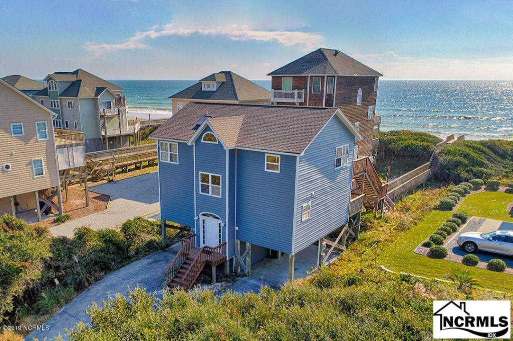 4472 Island Drive, North Topsail Beach, NC 28460 is now new to the market!