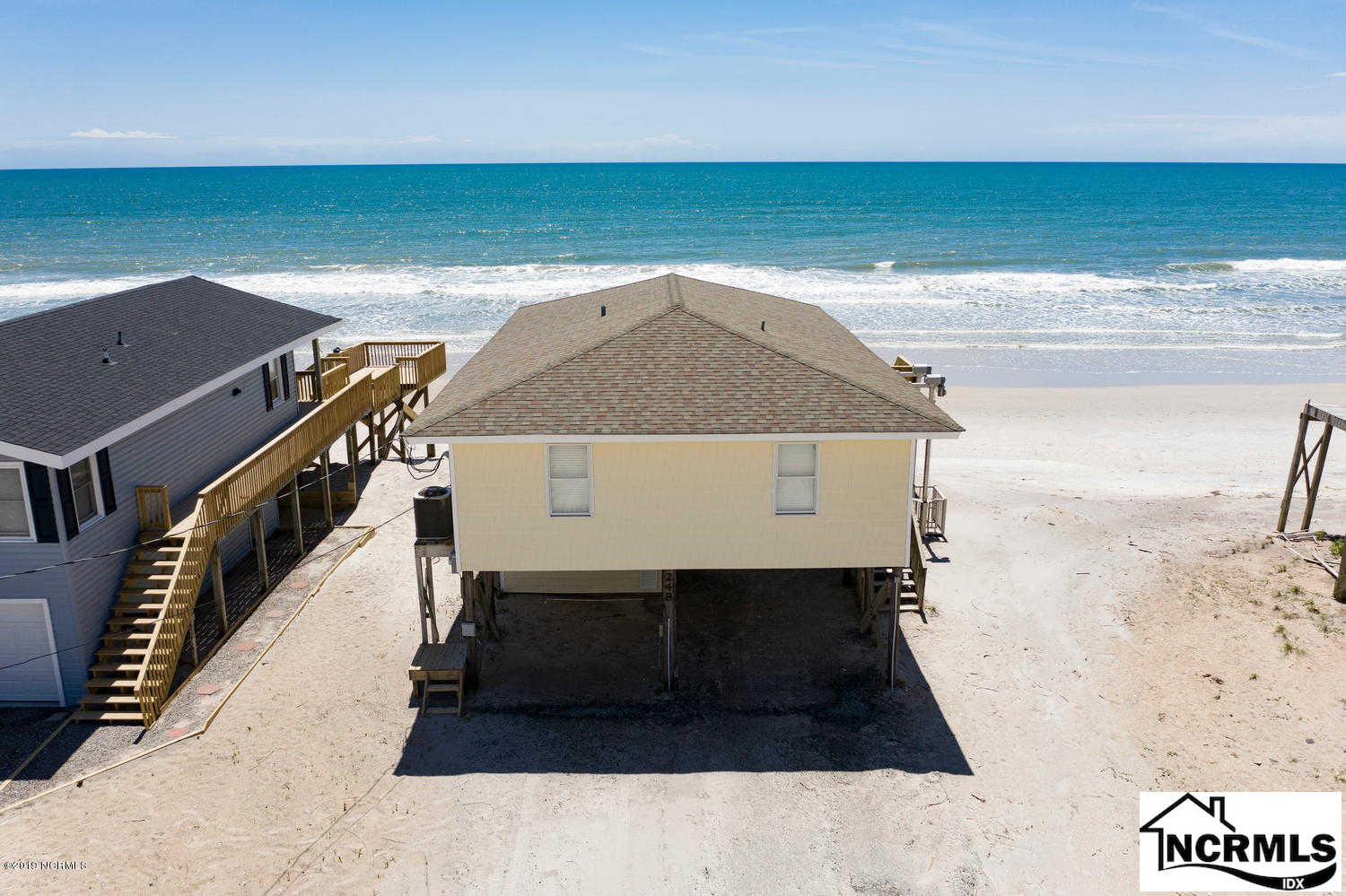 248 Seashore Drive, North Topsail Beach, NC 28460 now has a new price of $489,000!