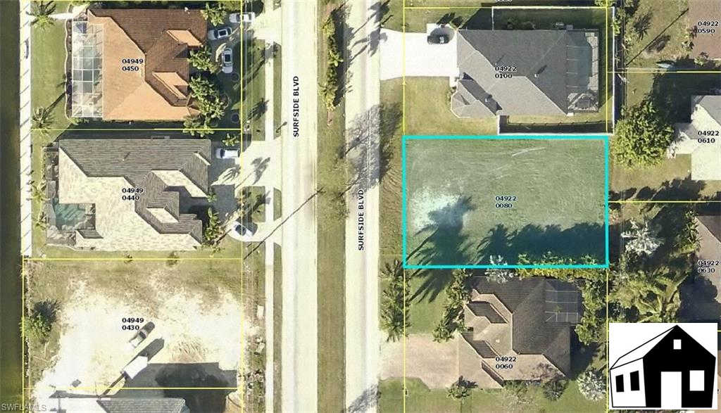 3407 Surfside Blvd, Cape Coral, FL 33914 now has a new price of $56,000!