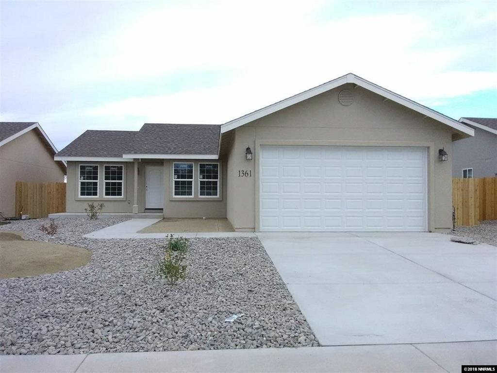 1373 Tommy Trail, Fallon, NV 89406-6127 is now new to the market!