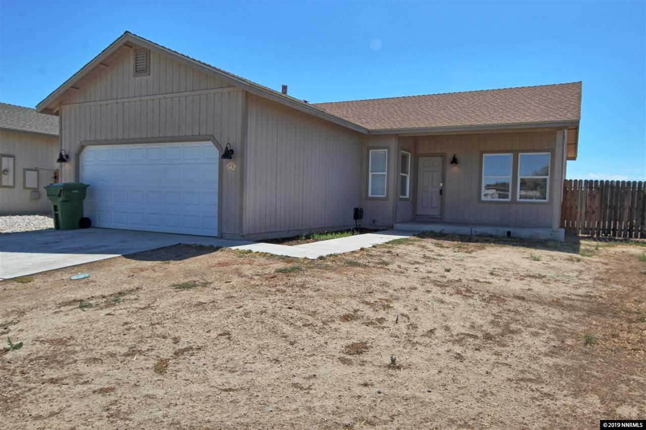 542 Silver Spur Way, Fallon, NV 89406-5103 now has a new price of $209,900!