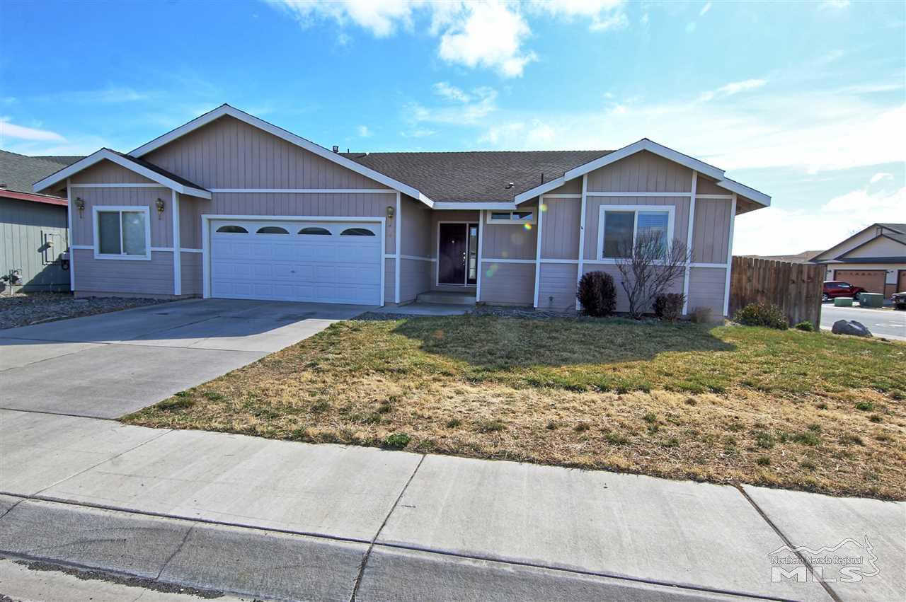 940 Jessica Lane, Fernley, NV 89408-9116 is now new to the market!