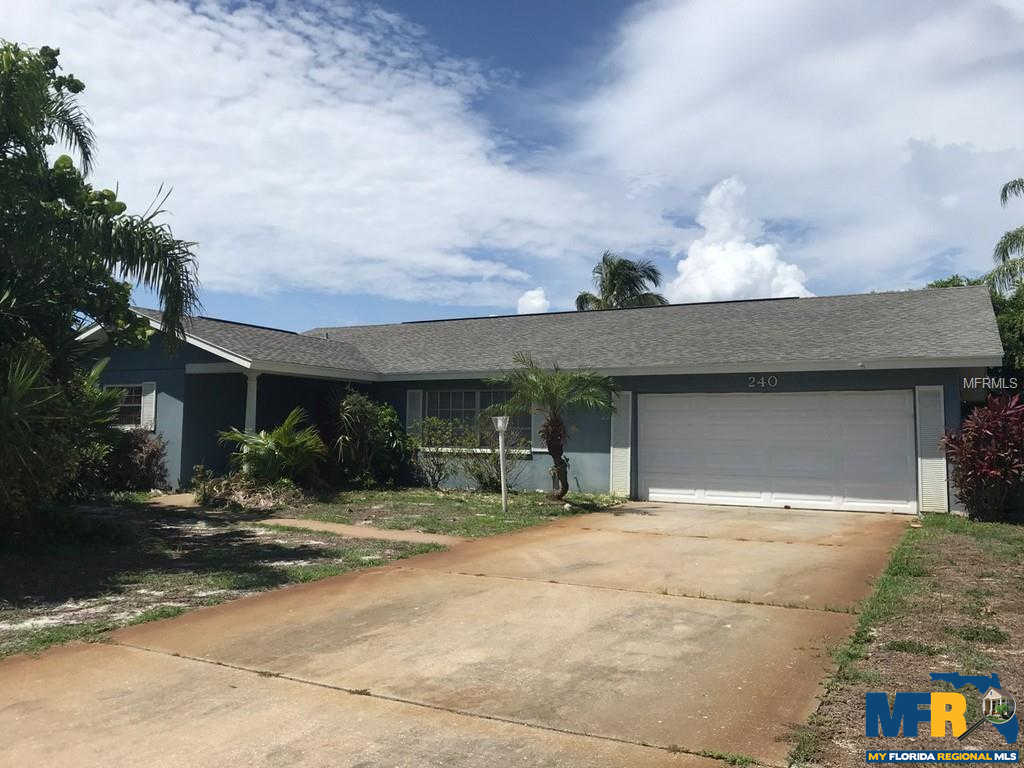 240 N Julia Circle, St Pete Beach, FL 33706 now has a new price of $499,900!