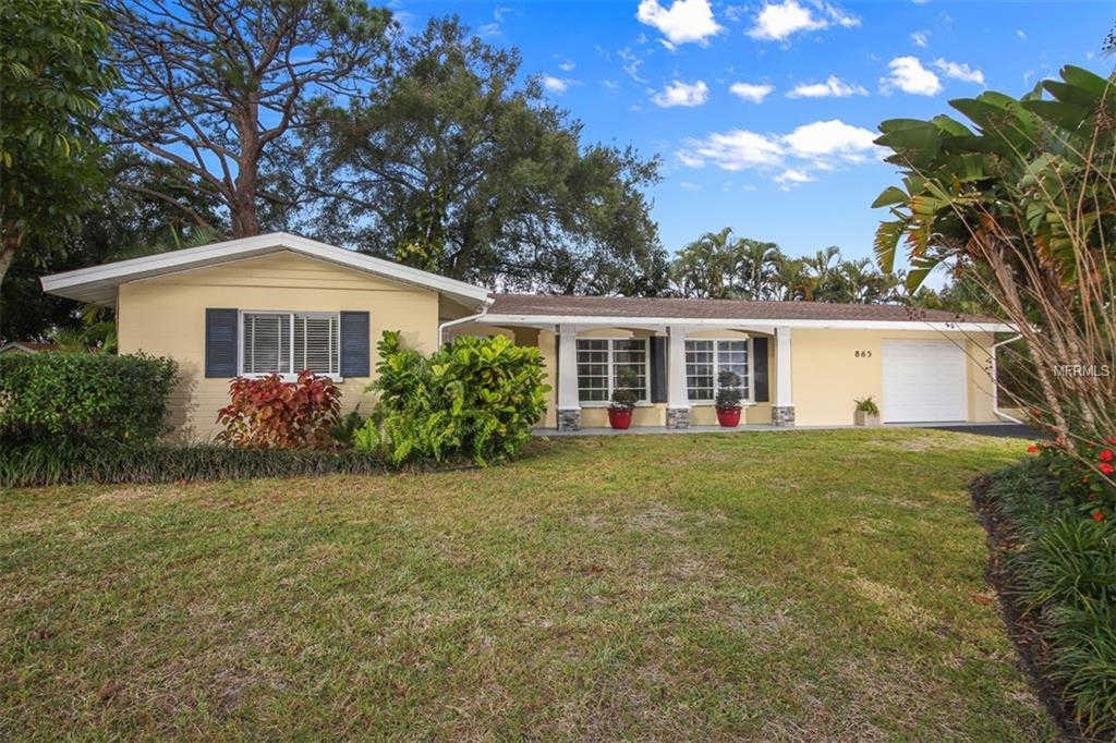 865 Alderwood Way, Sarasota, FL 34243 now has a new price of $249,900!