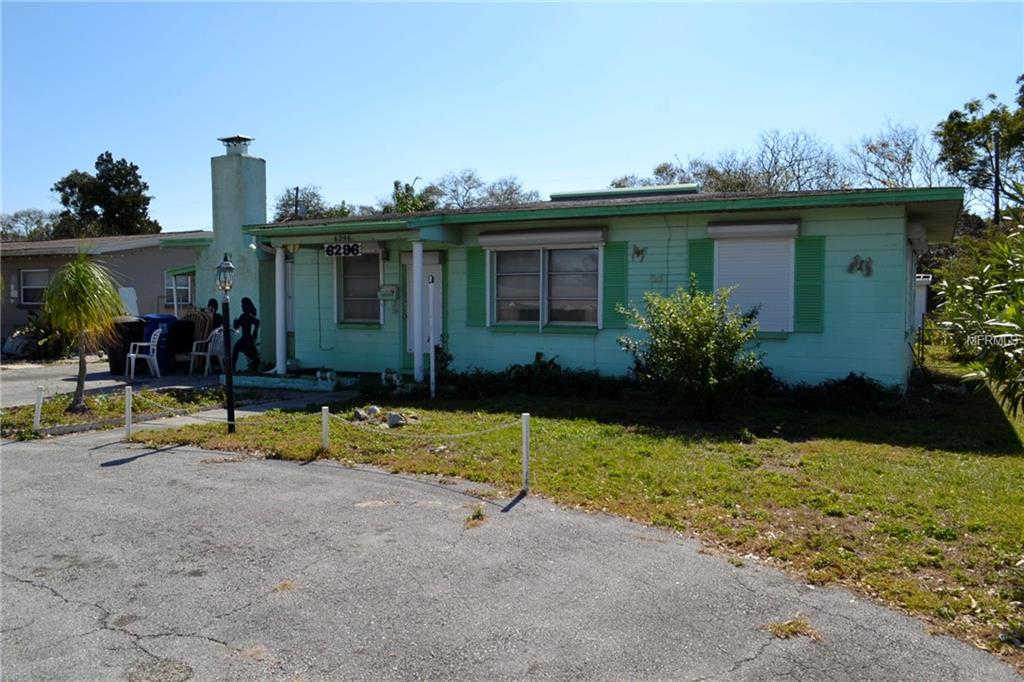 6296 38TH AVE N ST PETERSBURG, FL 33710 is now new to the market!