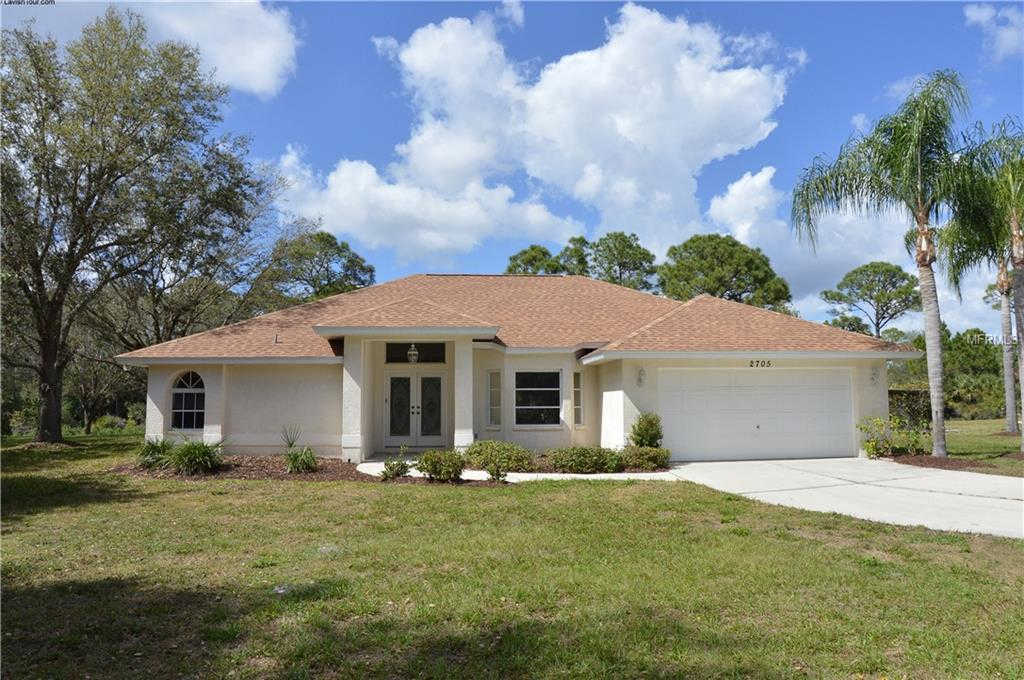 2705 San Maria Circle, North Port, FL 34286 is now new to the market!
