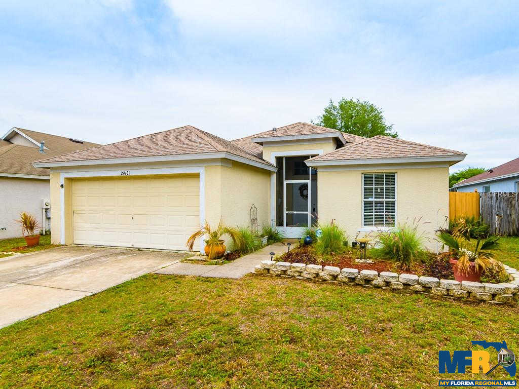 24431 Summer Wind Court, Lutz, FL 33559 now has a new price of $169,900!