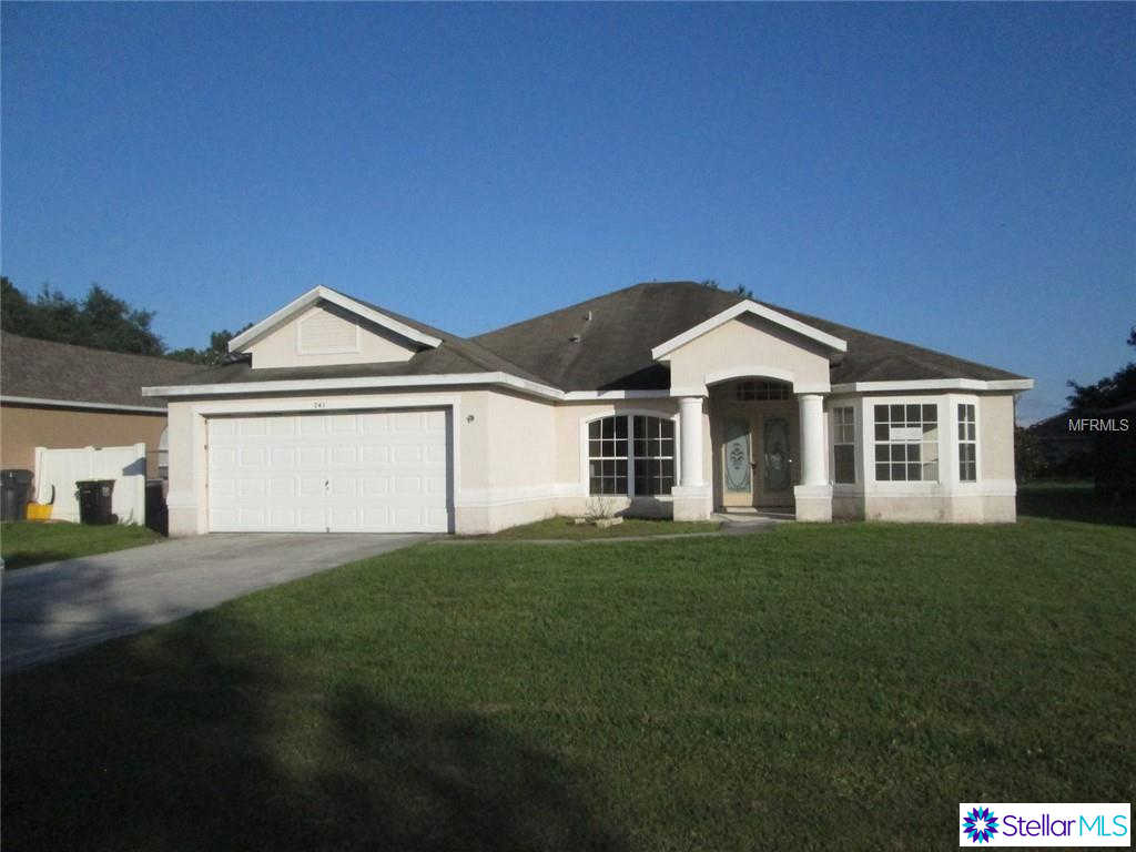 741 Robin Court, Poinciana, FL 34759 now has a new price of $169,900!