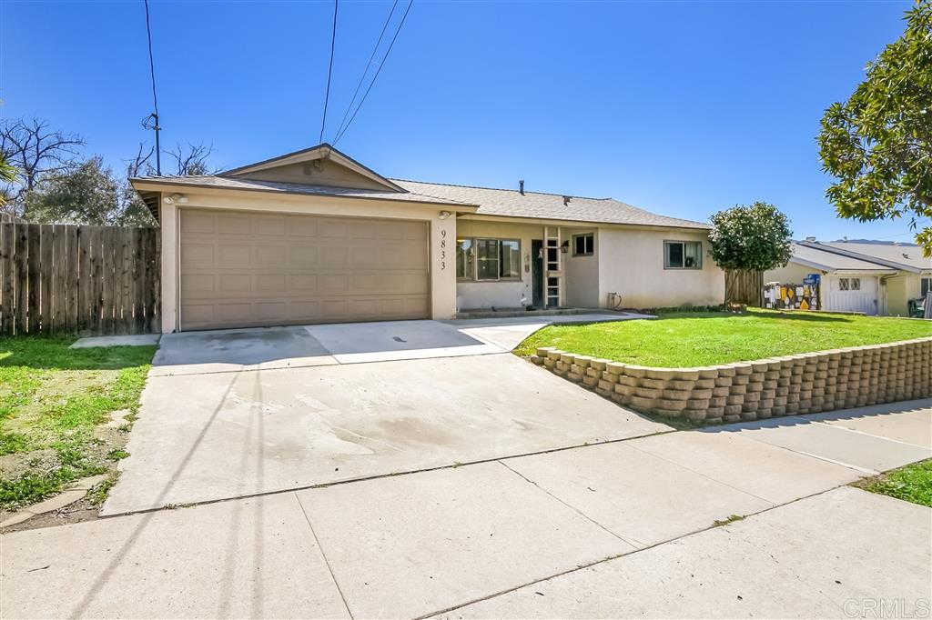 9833 Settle Rd, Santee, CA 92071 now has a new price of $539,900!