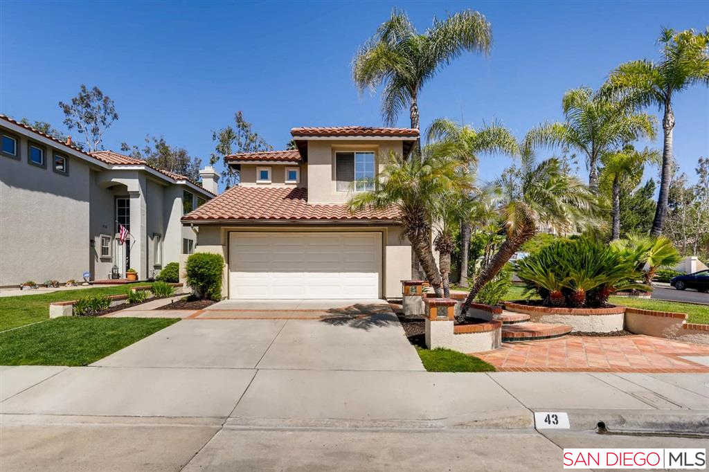 43 Via Brida, Rancho Santa Margarita, CA 92688 now has a new price of $749,900!