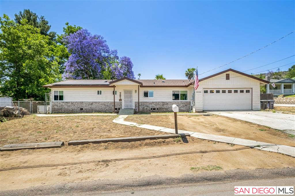 9020 Paradise Park Dr, Lakeside, CA 92040 is now new to the market!