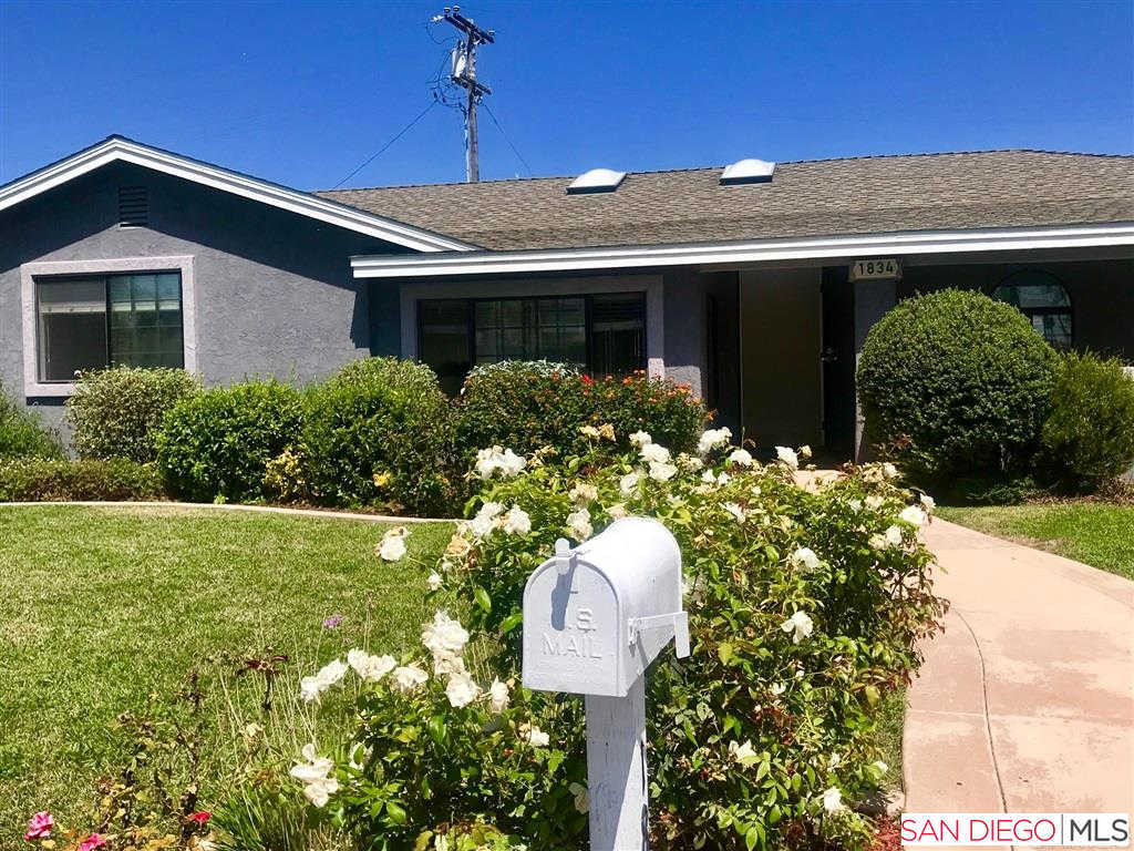 1834 S Nevada, Oceanside, CA 92054 now has a new price of $3,500!
