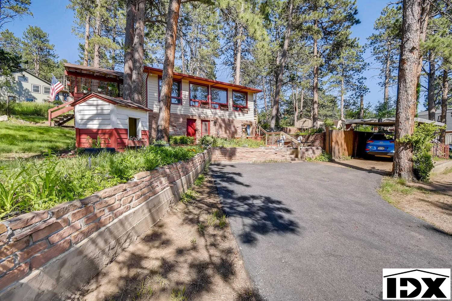 4570 Parmalee Gulch Road, Indian Hills, CO 80454 is now new to the market!