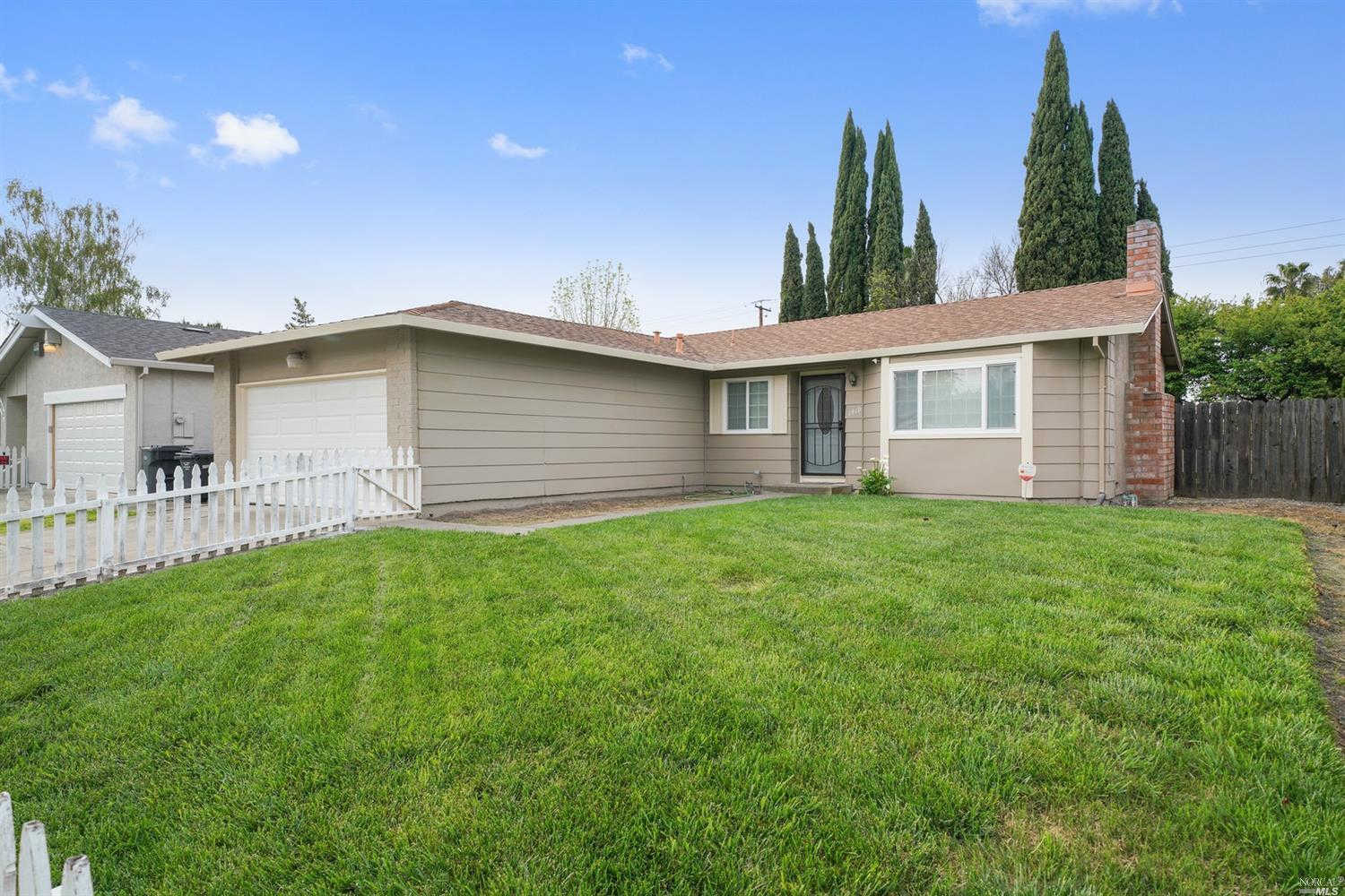 1419 Starr Court, Fairfield, CA 94533 is now new to the market!