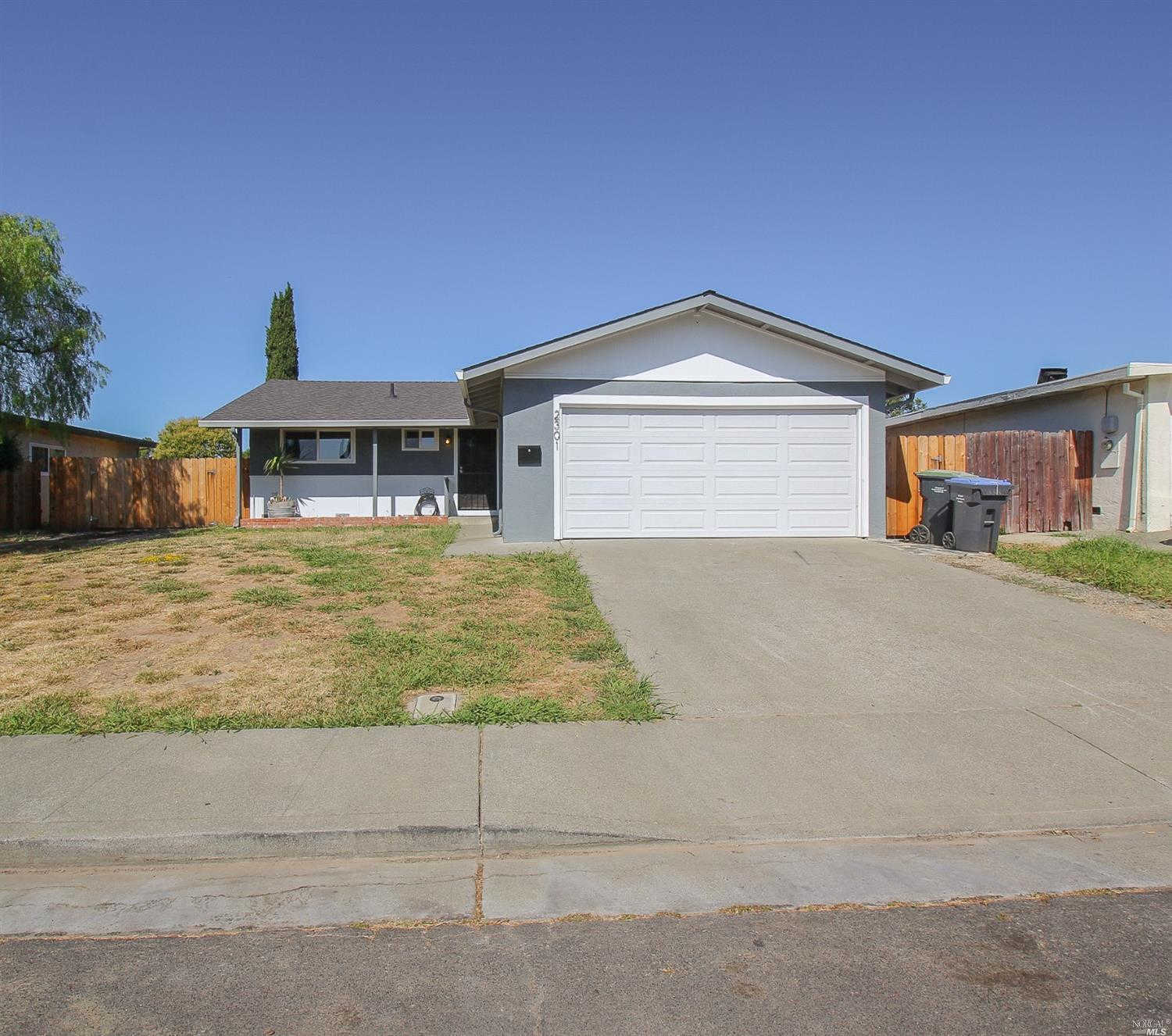 2301 Santa Rosa Drive, Fairfield, CA 94533 now has a new price of $360,000!