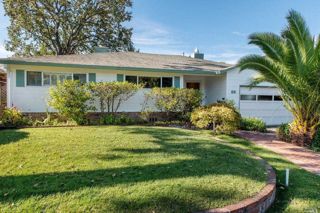 55 Meriam Drive, San Rafael, CA 94903 is now new to the market!