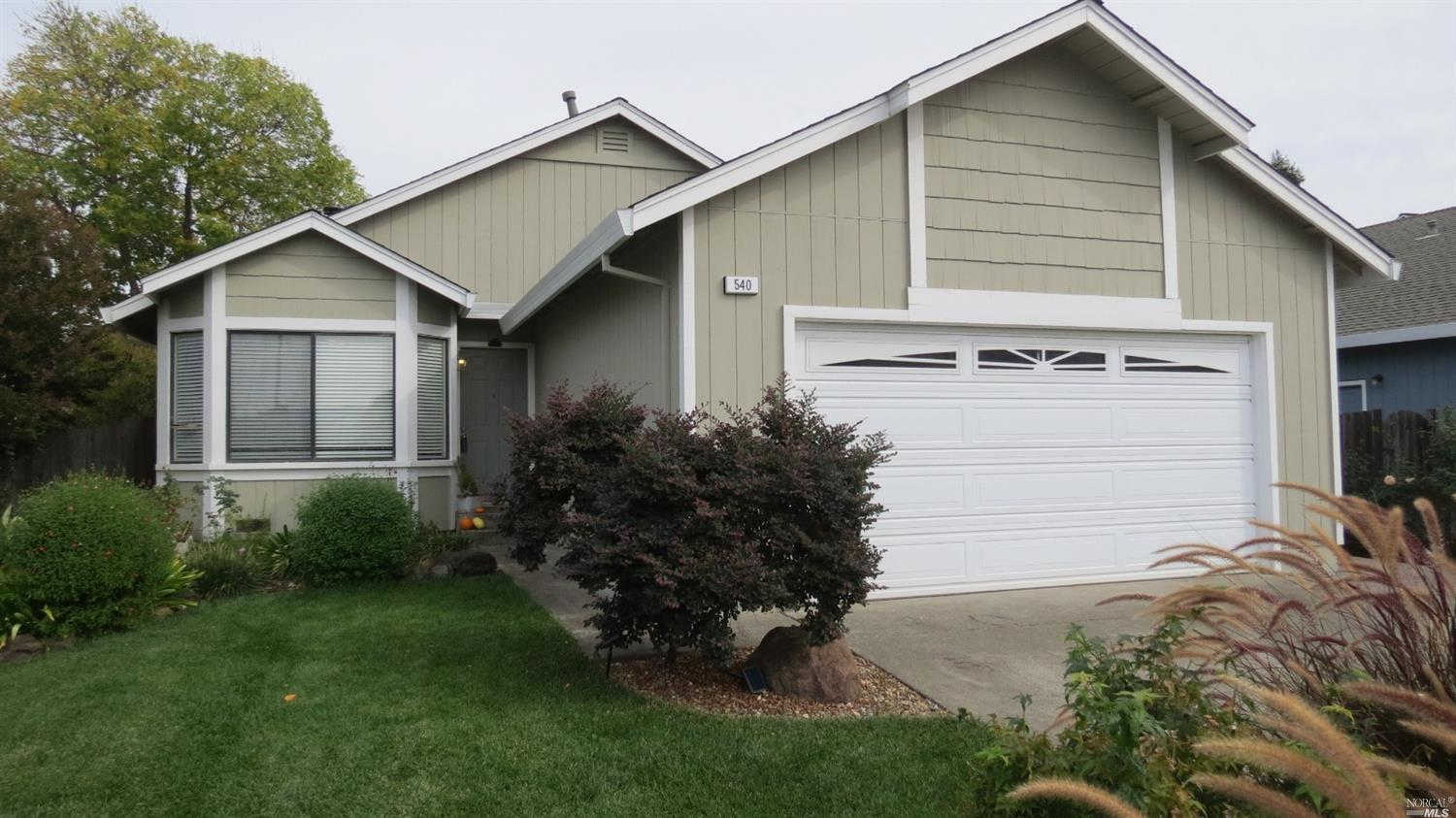 Another Property Sold - 540 Christopher Way, Windsor, CA 95492
