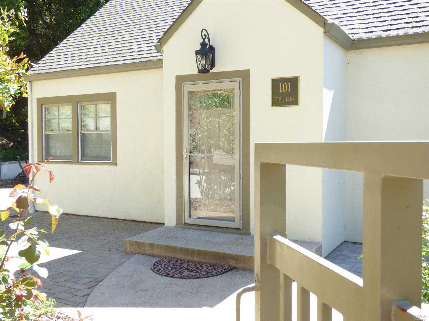101 Rose Lane, St. Helena, CA 94574 now has a new price of $3,250!