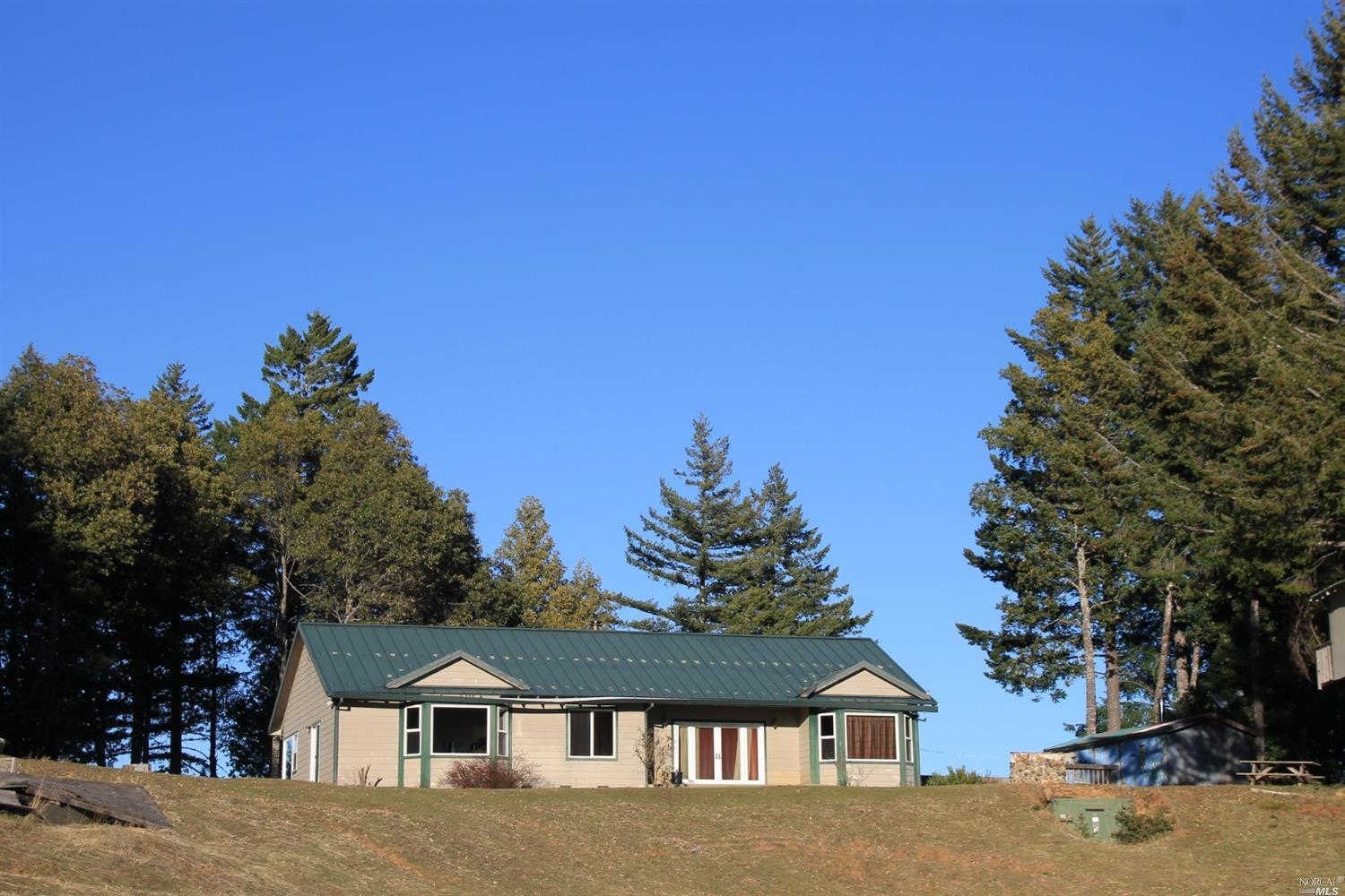 4300 Cahto Peak Drive, Laytonville, CA 95454 now has a new price of $749,000!