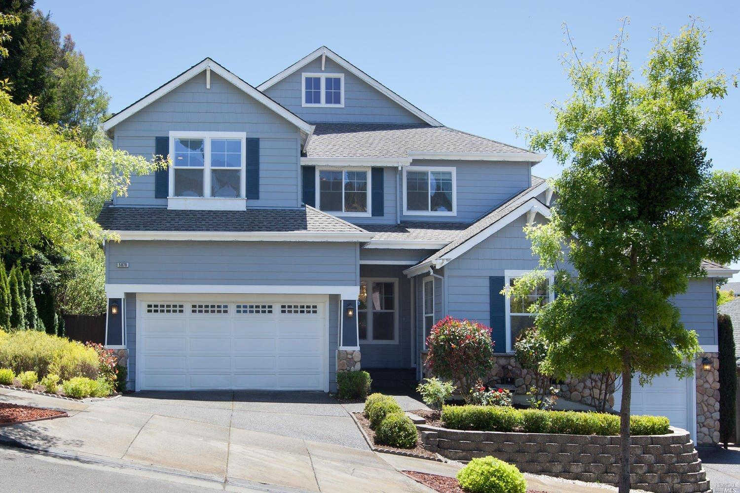 Another Property Rented - 5878 Mountain Hawk Drive, Santa Rosa, CA 95409