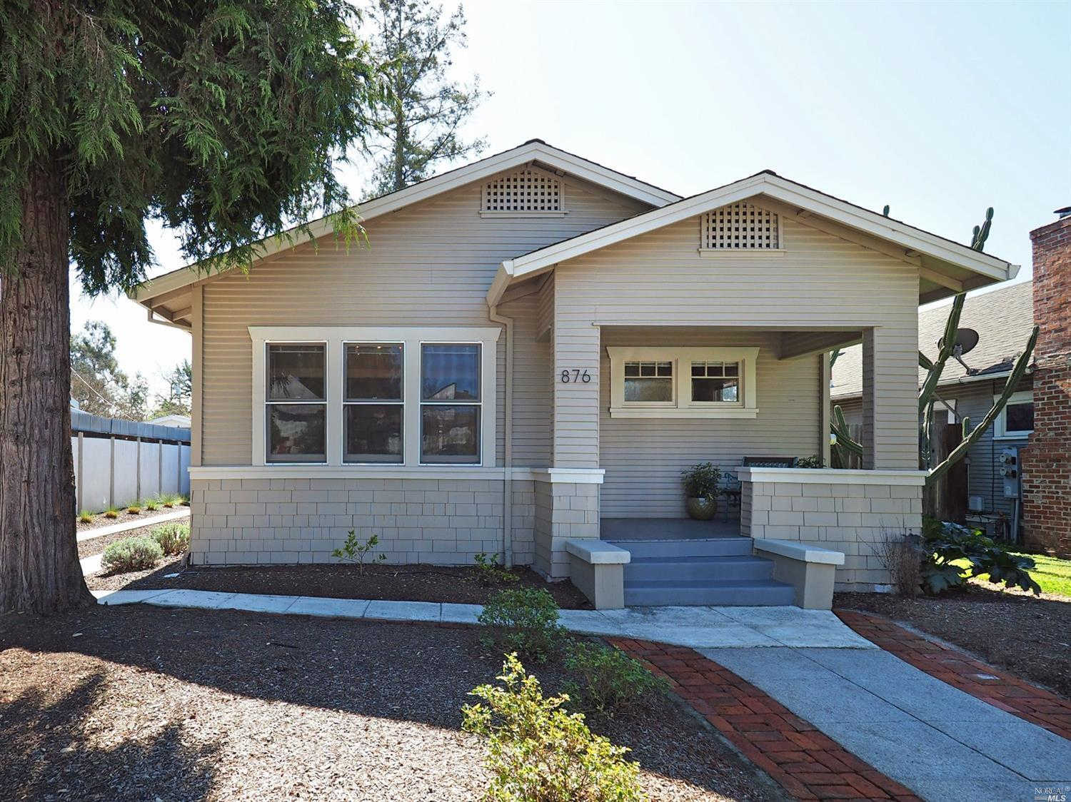 876 Sonoma Avenue, Santa Rosa, CA 95404 is now new to the market!