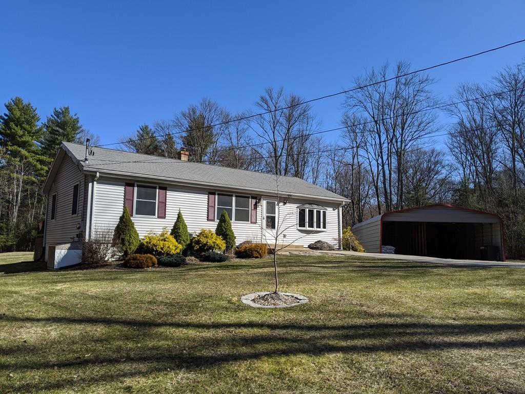1154 Dunhamtown Brimfield Rd, Brimfield, MA 01010 now has a new price of $314,900!