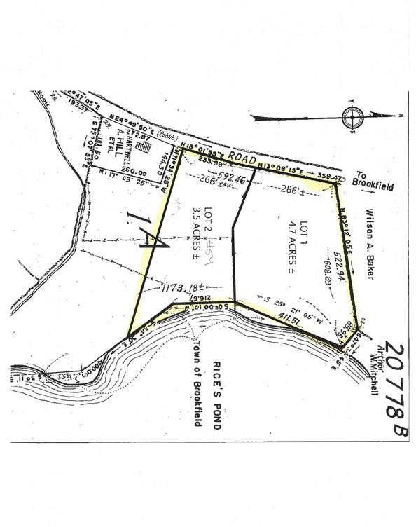 Lot 1&2 Fiskdale Road, Brookfield, MA 01506 is now new to the market!