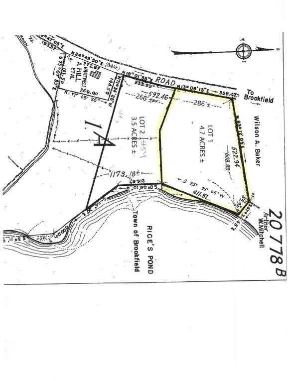 Lot 1 Fiskdale Road, Brookfield, MA 01506 is now new to the market!