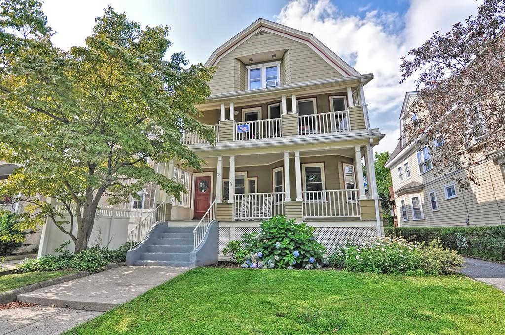 36 Powder House Blvd. #1, Somerville, MA 02144 is now new to the market!