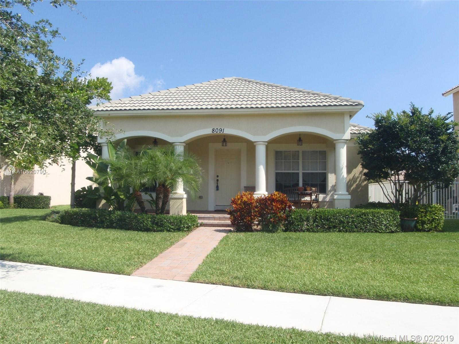 8091 Bautista Way, Palm Beach Gardens, FL 33418 is now new to the market!