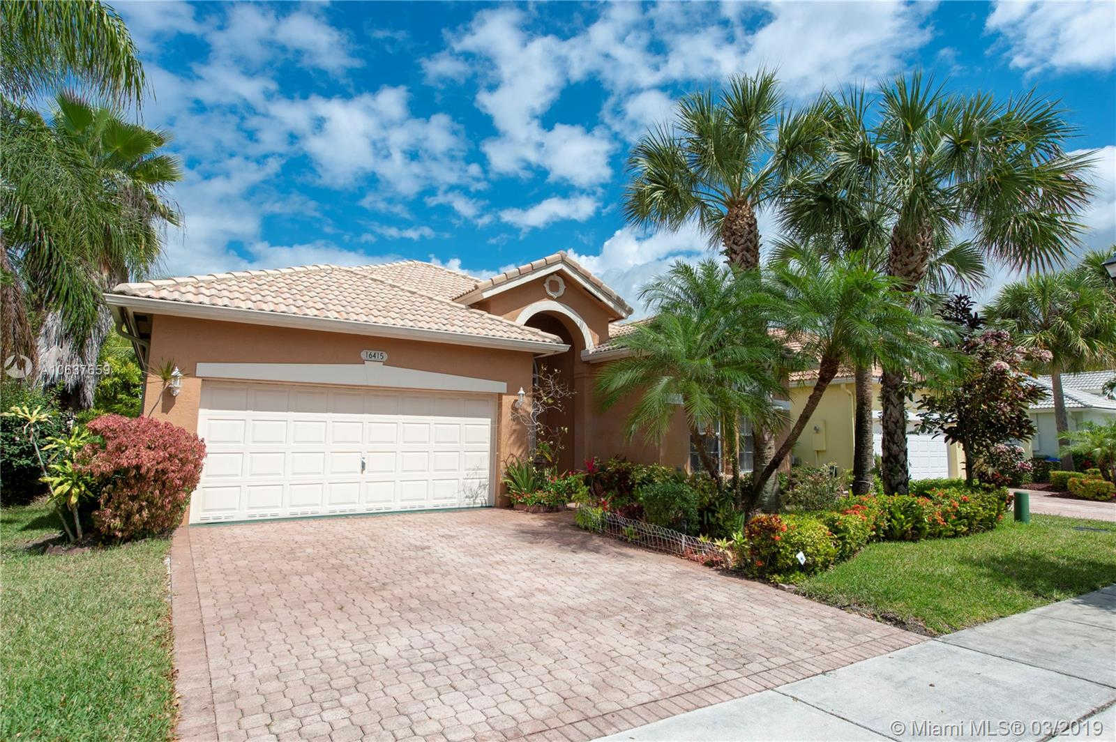 16415 SW 1st Ct, Pembroke Pines, FL 33027 now has a new price of $395,000!