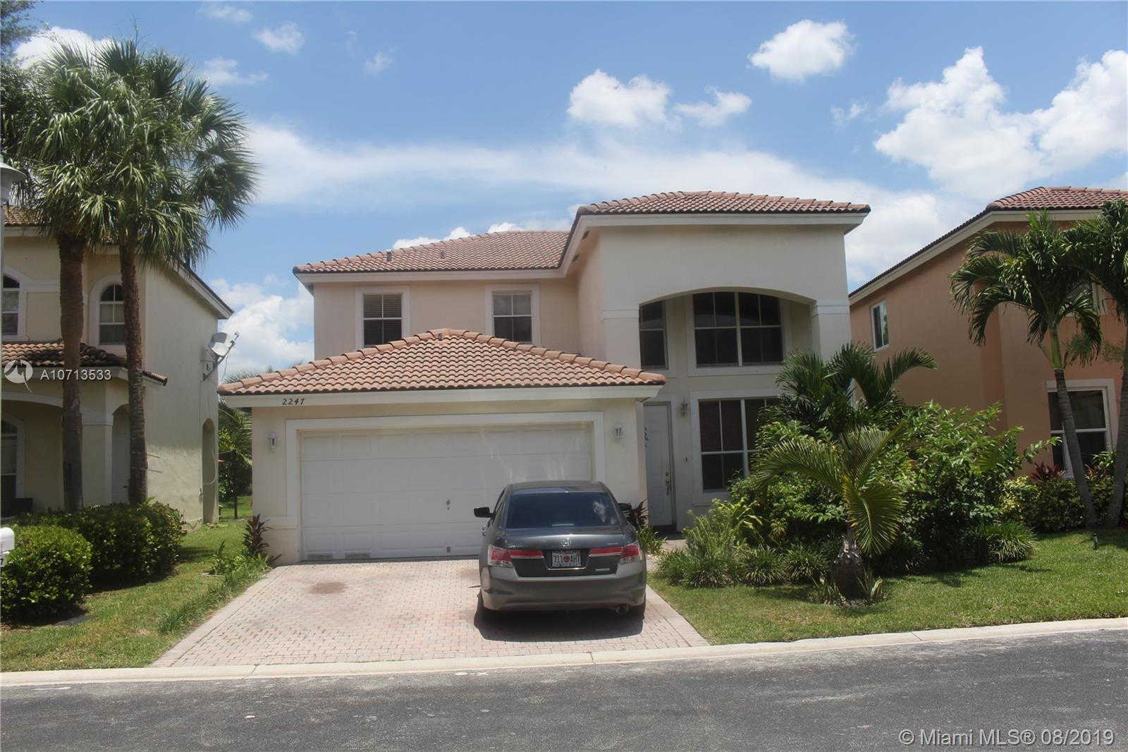 2247 NW 77th Ter, Pembroke Pines, FL 33024 now has a new price of $2,500!