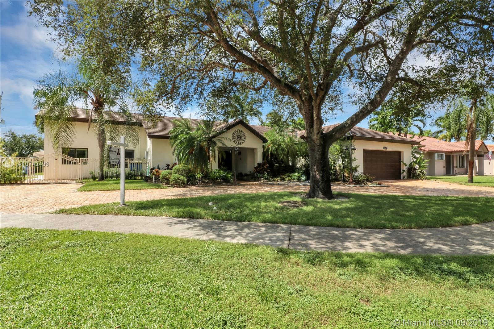 14240 Glencairn Rd, Miami Lakes, FL 33016 is now new to the market!
