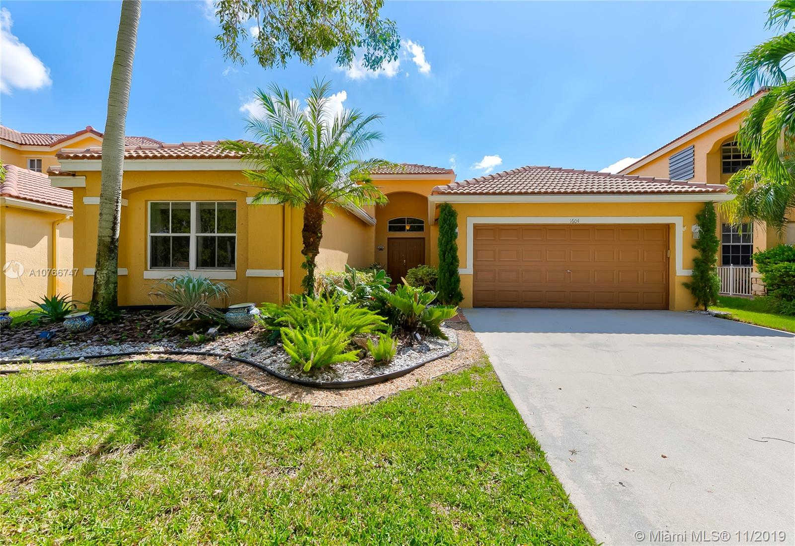 1604 Sandpiper Circle, Weston, FL 33327 has an Open House on  Saturday, November 9, 2019 2:00 PM to 5:00 PM