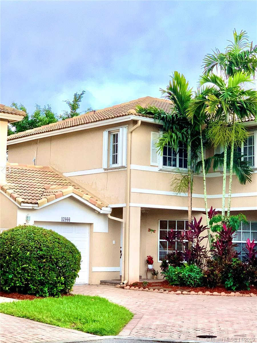 17066 NW 22nd St, Pembroke Pines, FL 33028 is now new to the market!