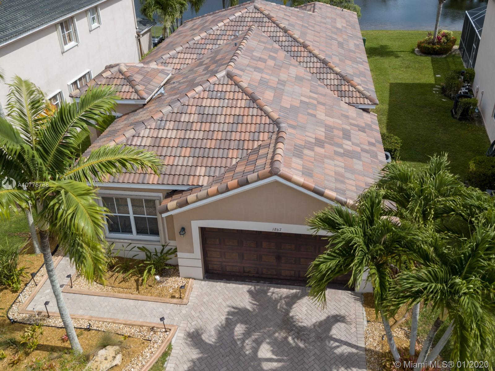 Video Tour  - 1867 Silverbell Ter, Weston, FL 33327