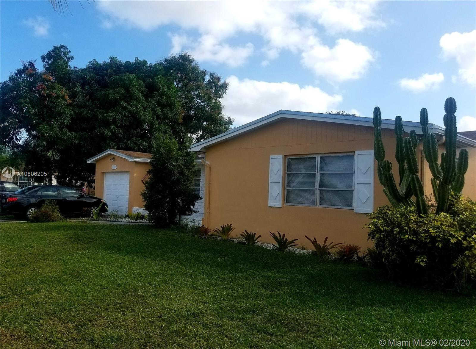 6516 NW 2nd St, Margate, FL 33063 now has a new price of $343,000!