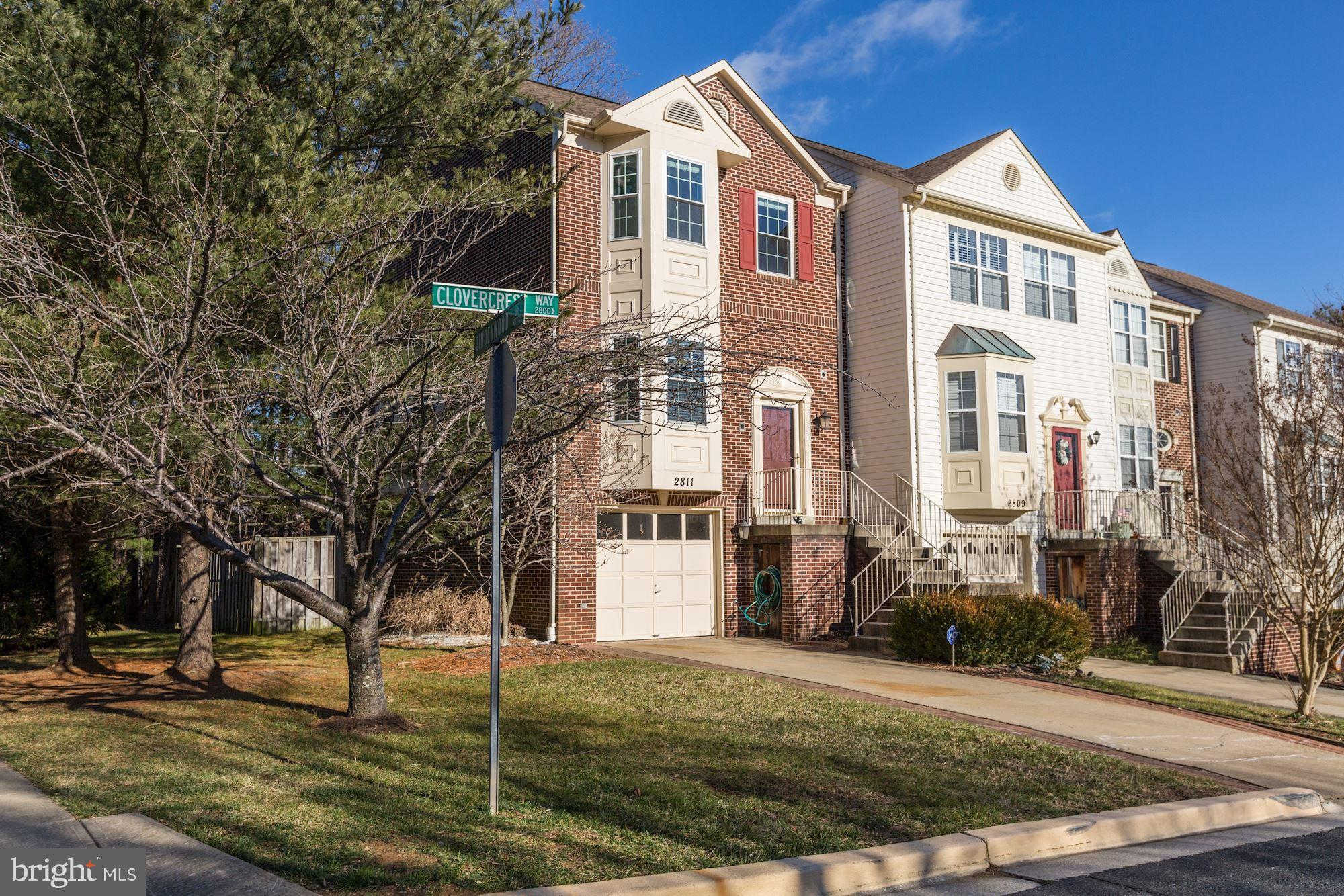 2811 CLOVERCREST WAY OLNEY, MD 20832 is now new to the market!