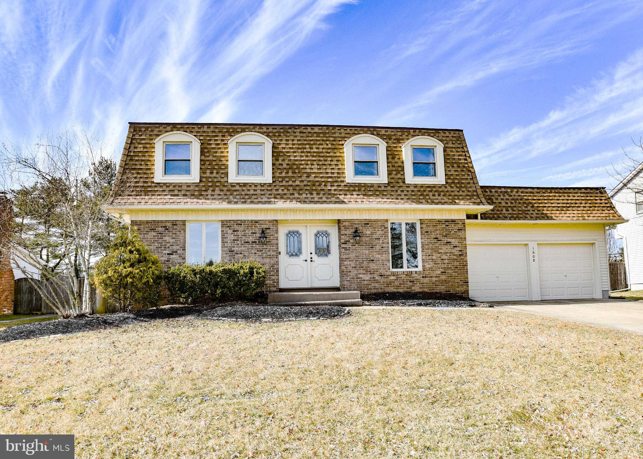 1608 Prince Drive, Cherry Hill, NJ 08003 now has a new price of $334,000!